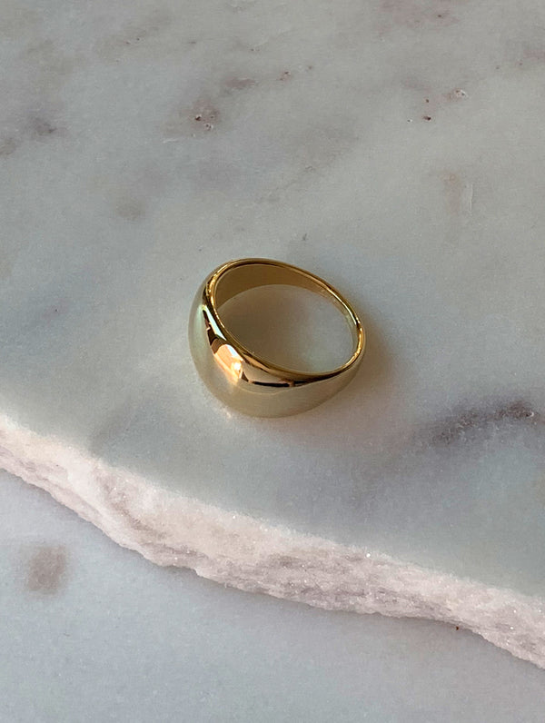 Classic Gold Dome Ring