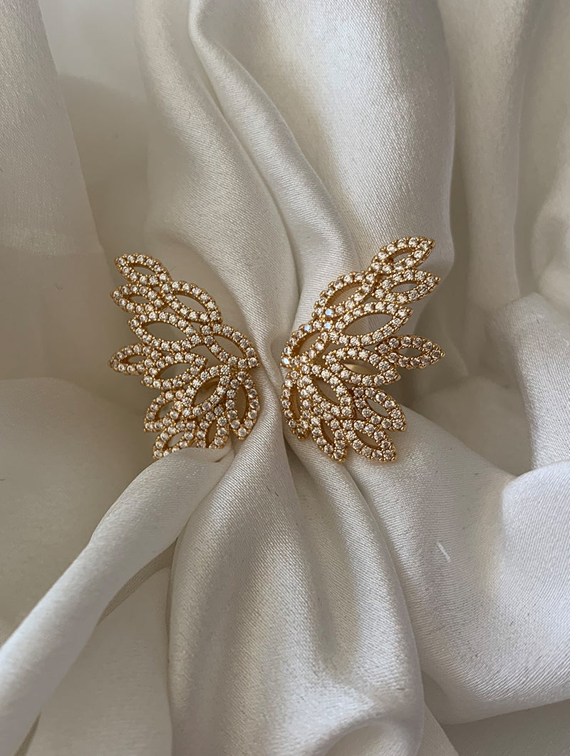 Statement Butterfly Ring