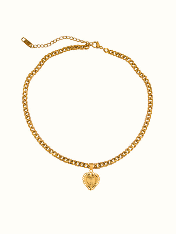 Lovers Heart Choker