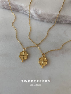 Tiny Lucky Clover Necklace