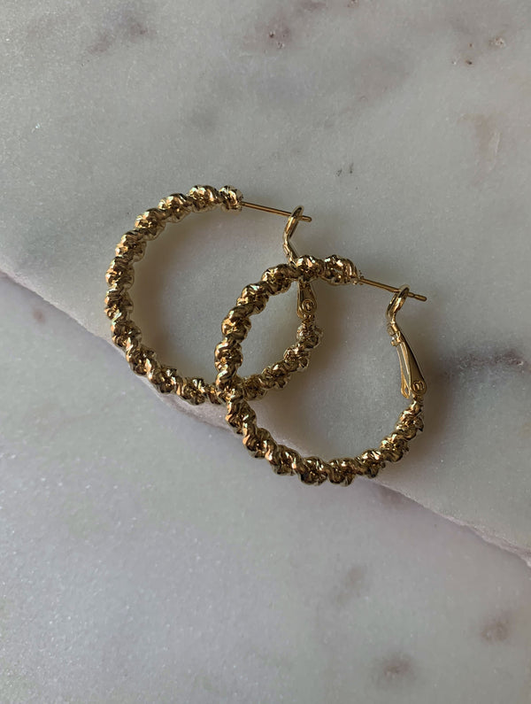 Madeline Medium Rope Hoops