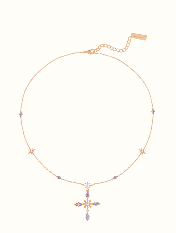 Jewel Cross Choker