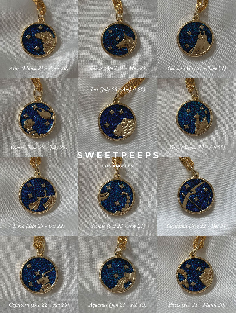 Celestial Horoscope Necklace (CC)