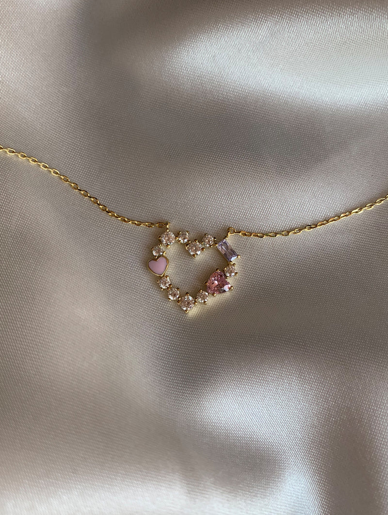 Pastel On Top Of The World choker Necklace
