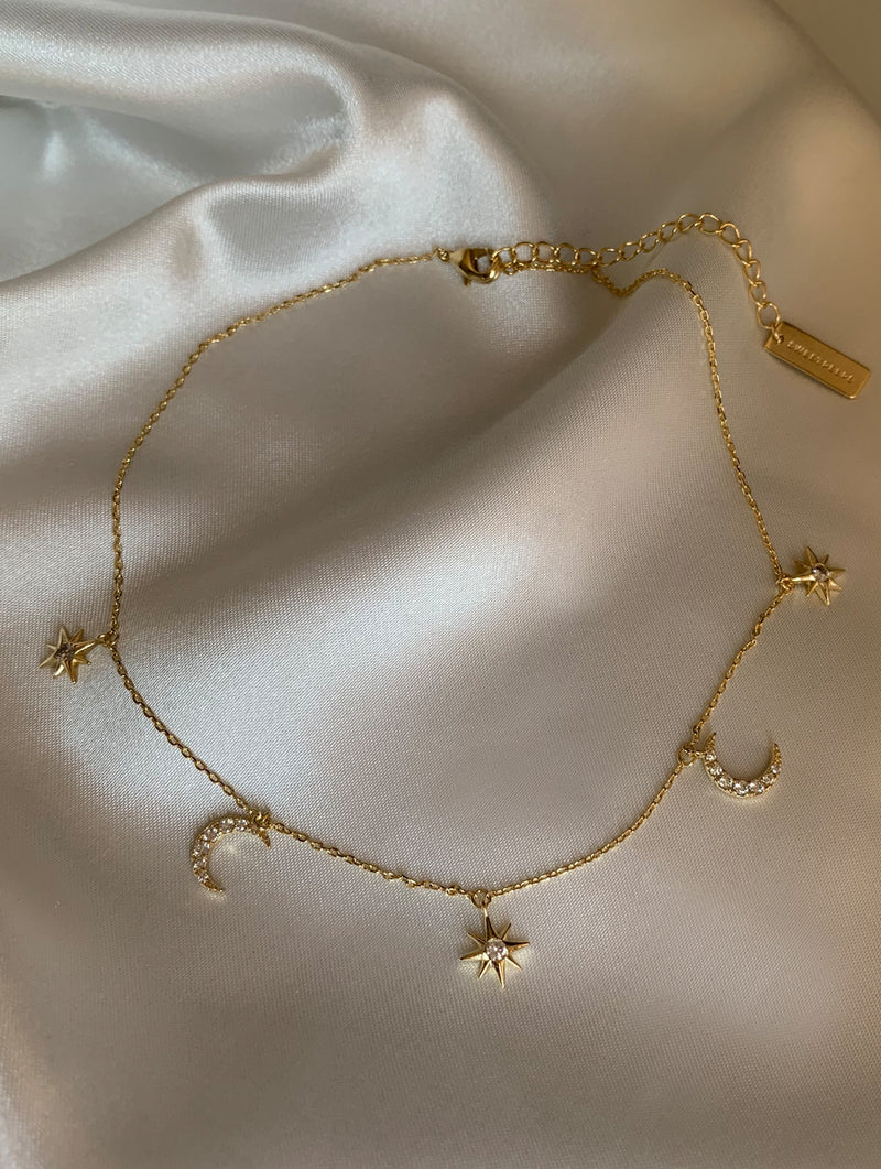Olivia Stars and Diamonds Choker