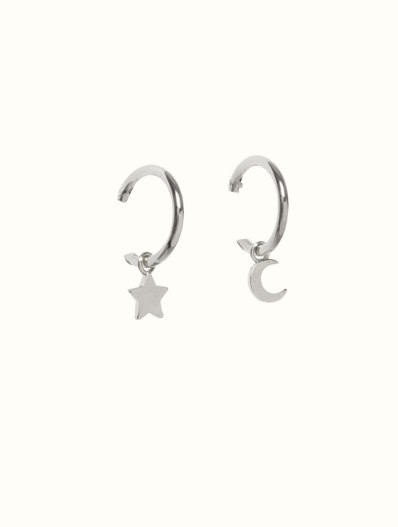 Olivia Star & Moon Mini Huggies