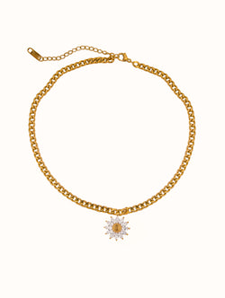 Sunflower Choker