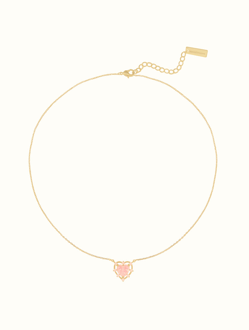 Megan Princess Heart Choker
