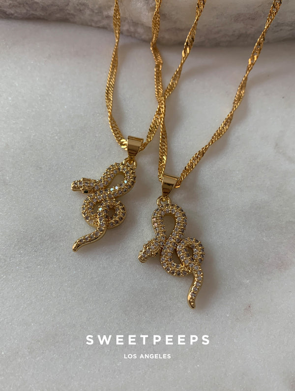 Stacy Snake Necklace (SS)