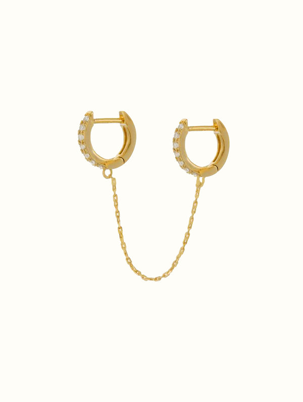 Double Chain Hoops