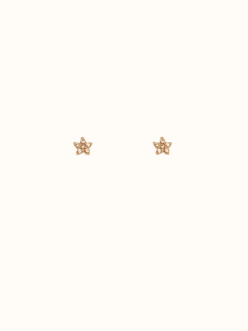 Kristin 925 Sterling Silver Teeny Tiny Star Studs