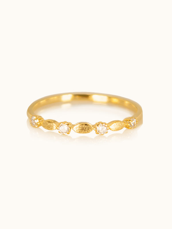 Michelle Thin Diamond Band Ring