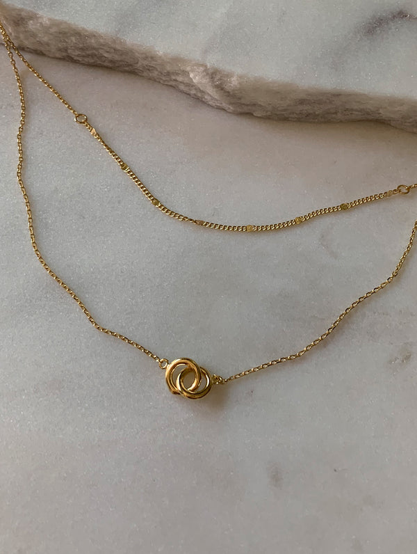 Layered Link Necklace