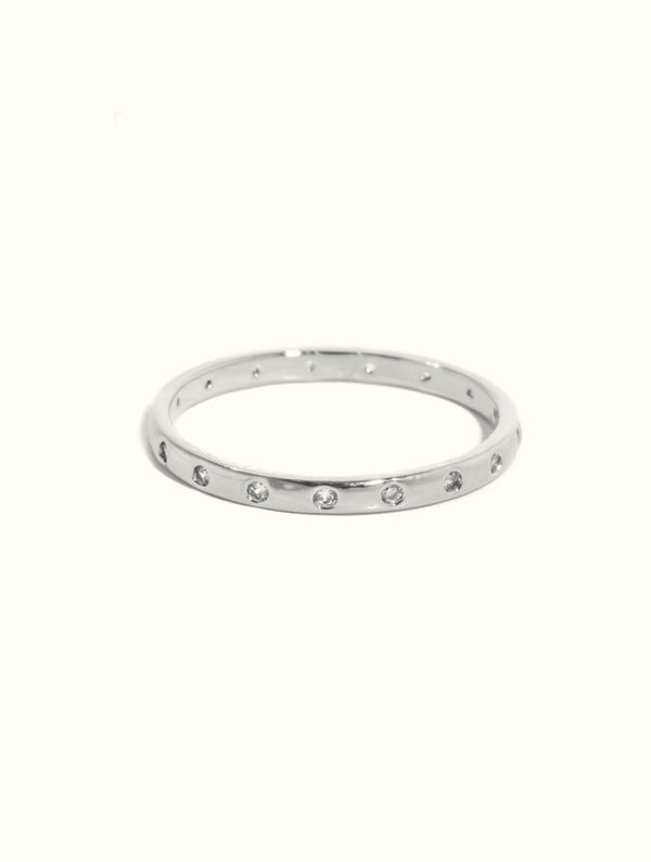 Diamond Studded Classic Ring
