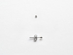 Sterling Silver Tiny Dot Stud Earrings
