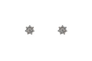 Sterling Silver Snowfall Earrings