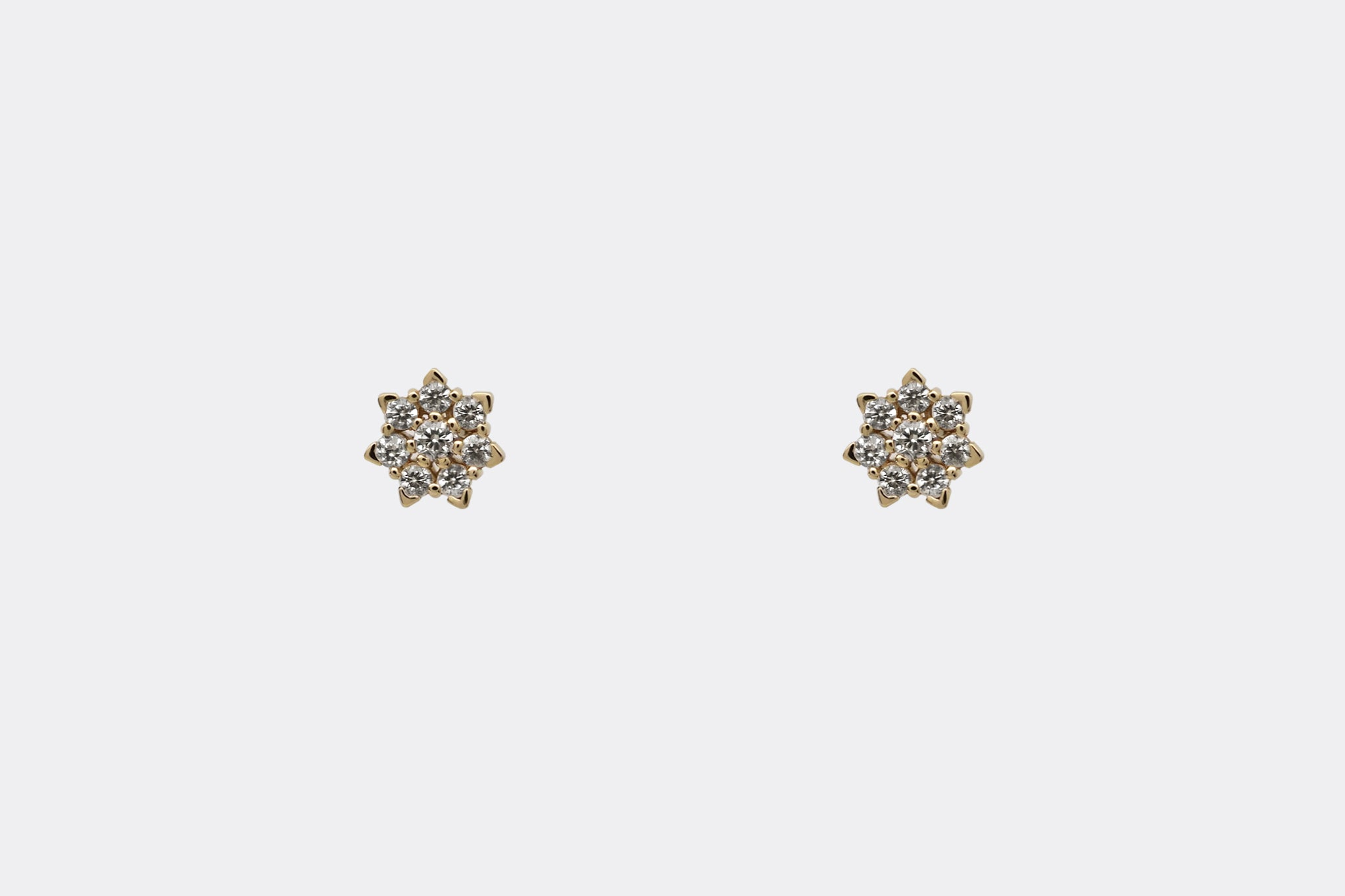 Snowfall Stud Earrings