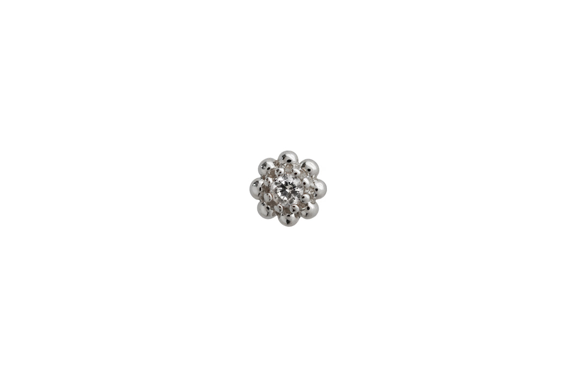 Sterling Silver Étoile Stud Earring Trio