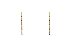 Diamond Quintet Ear Climber Earrings