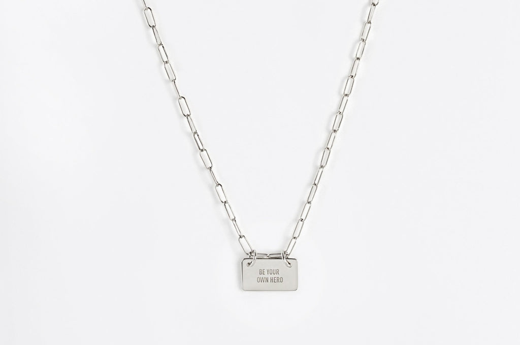 Little Reminder Sterling Silver Link Necklace