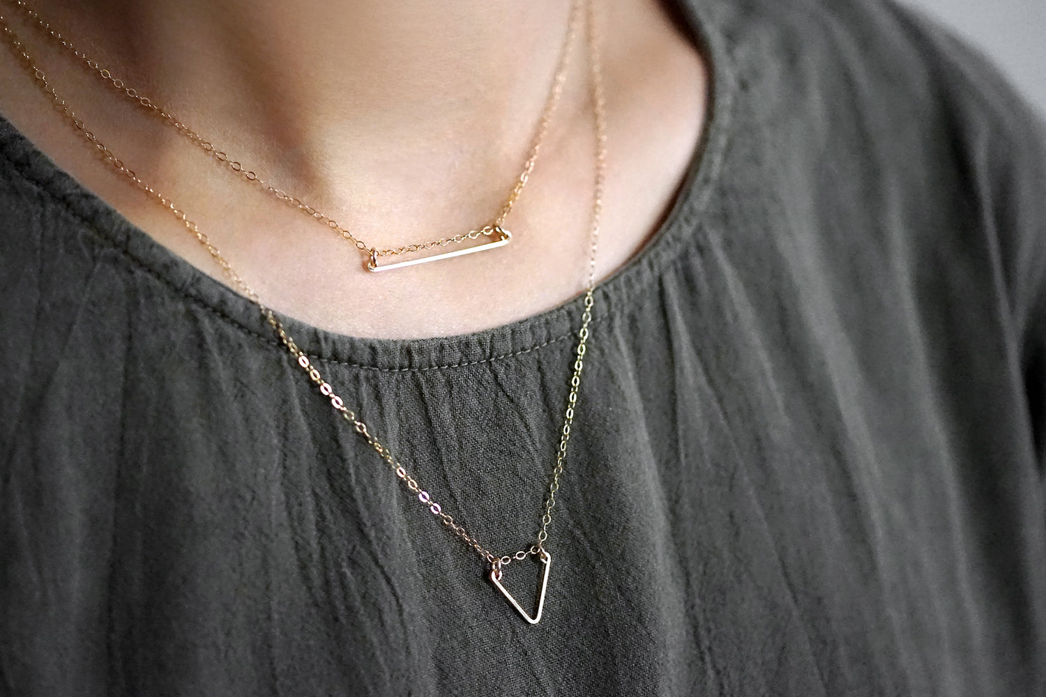Lean On Me Layered Necklace Set