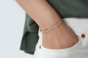 Everyday Gold Link Bracelet Set