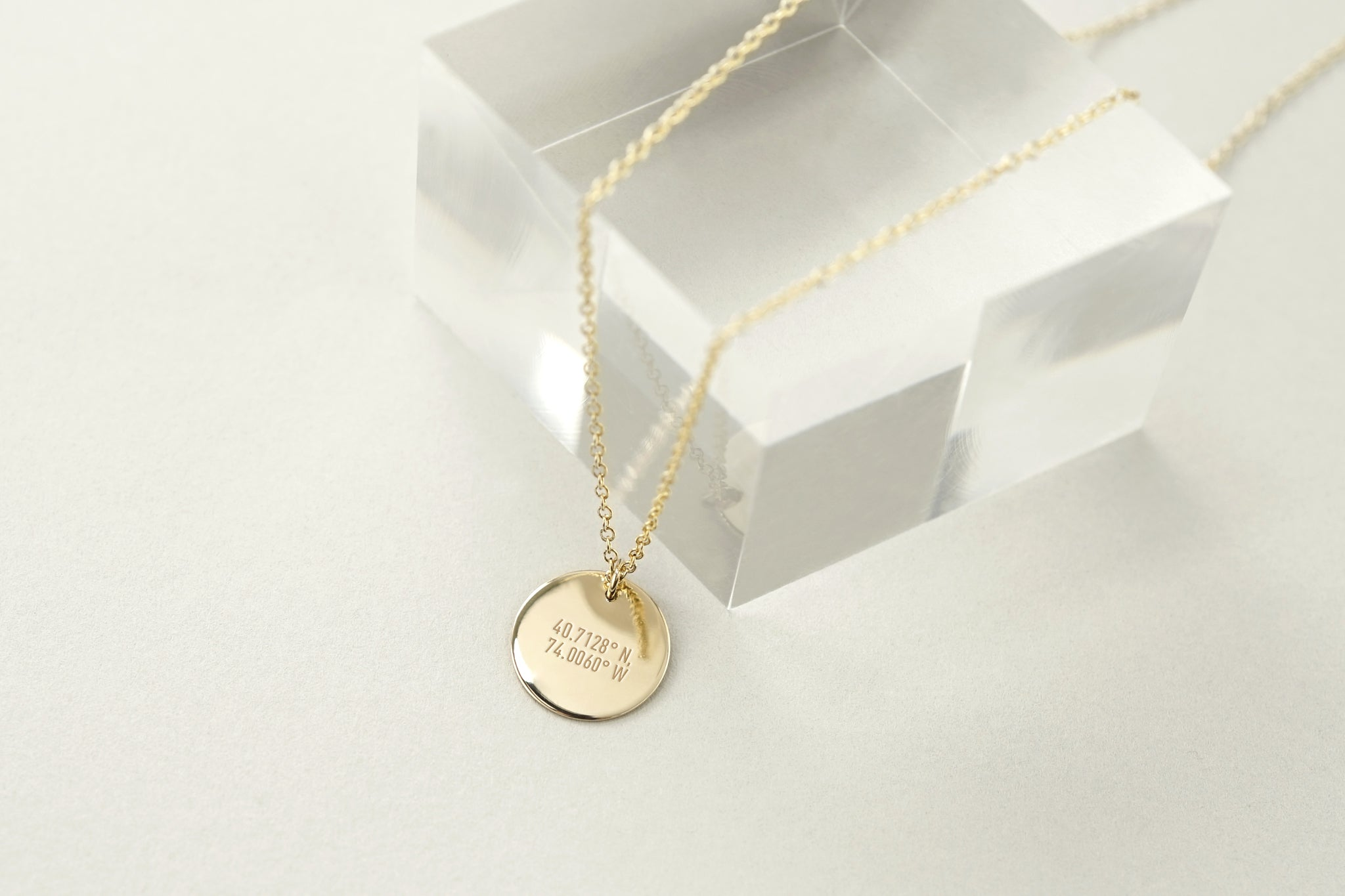 Note To Self Message Necklace