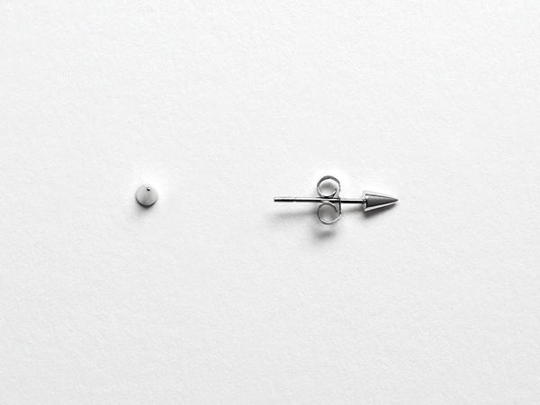 Spike Cone Stud Earrings LITTIONARY