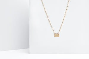 Little Reminder Gold Link Necklace
