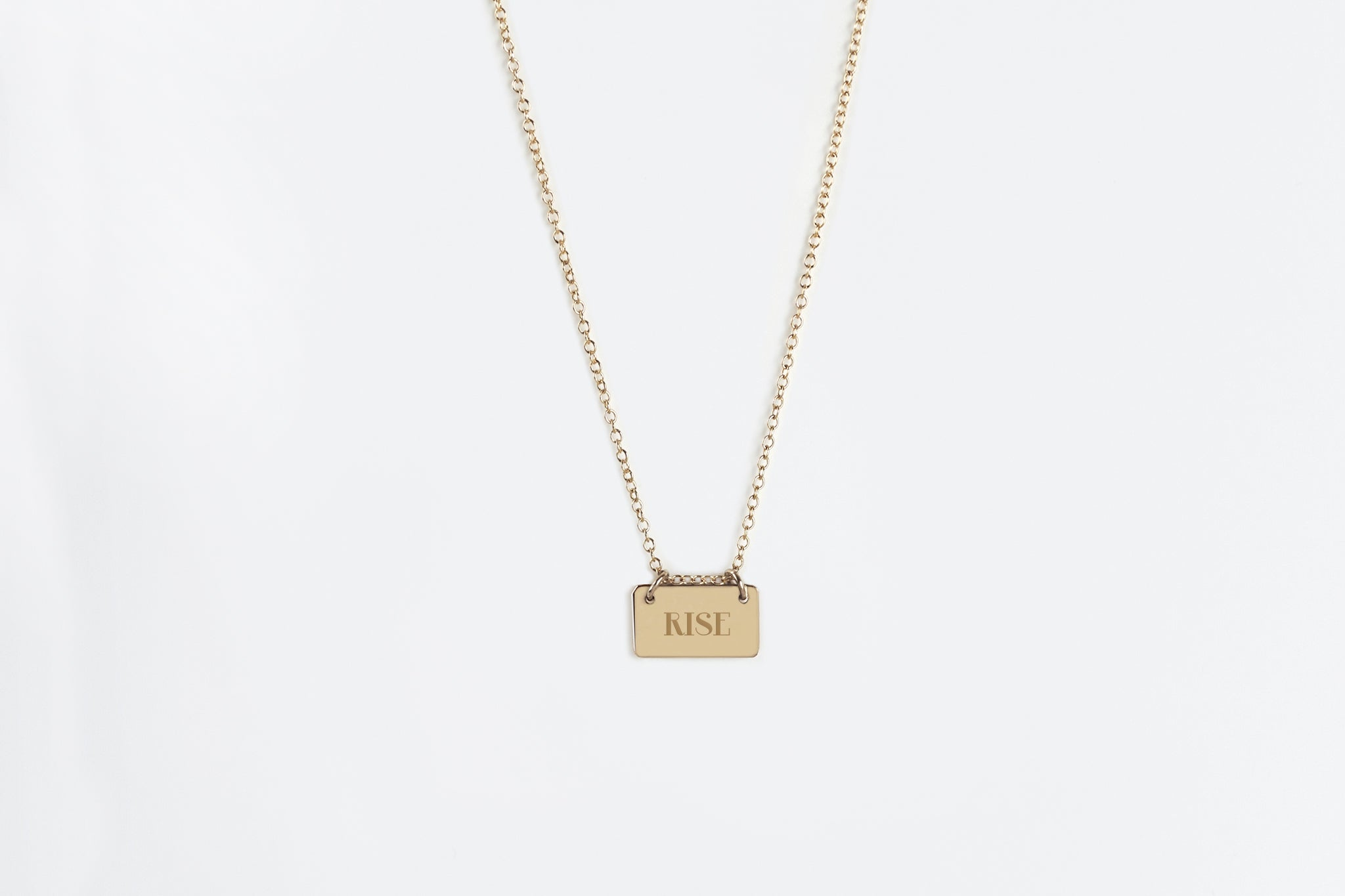 Personalized Letter Charm Necklace