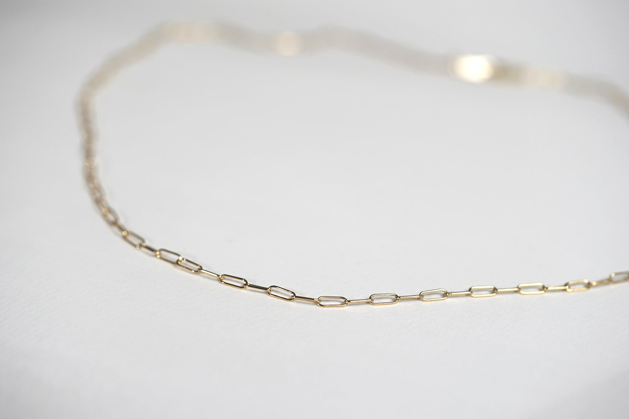 Dainty Link Layering Necklace