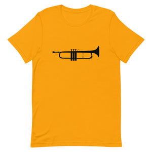 Just A Trumpet (Black) - Trumpet Band Nerd Shirt