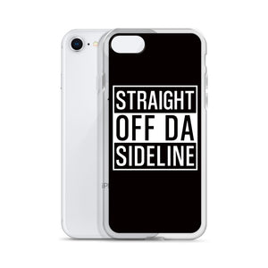 STRAIGHT OFF DA SIDELINE - Marching Band iPhone Case