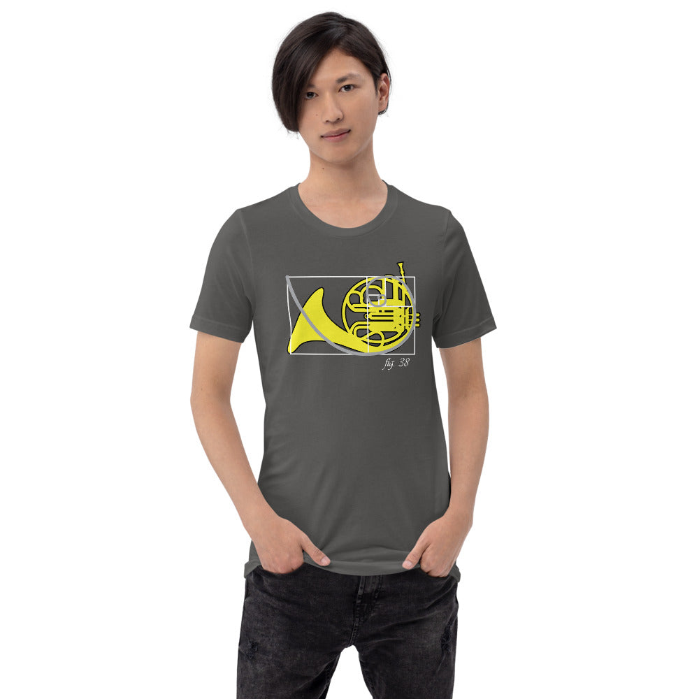Golden Ratio of Sound - French Horn Band Nerd Shirt