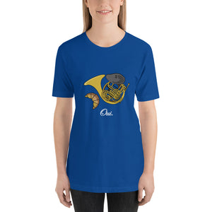 Oui, Very French Horn - Band Nerd Shirt
