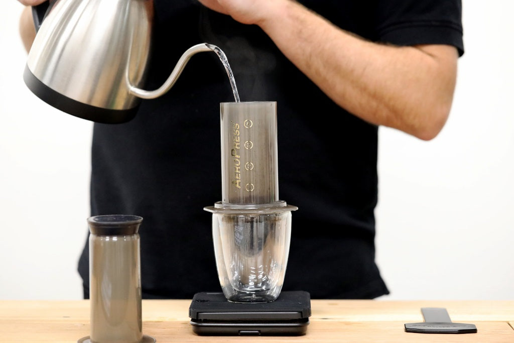 Adding Water to the Aeropress