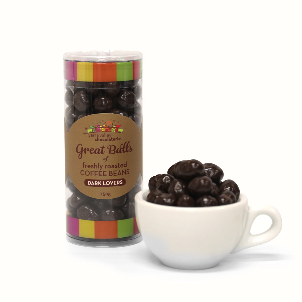 Chocolate Coated Coffee Beans - Dark