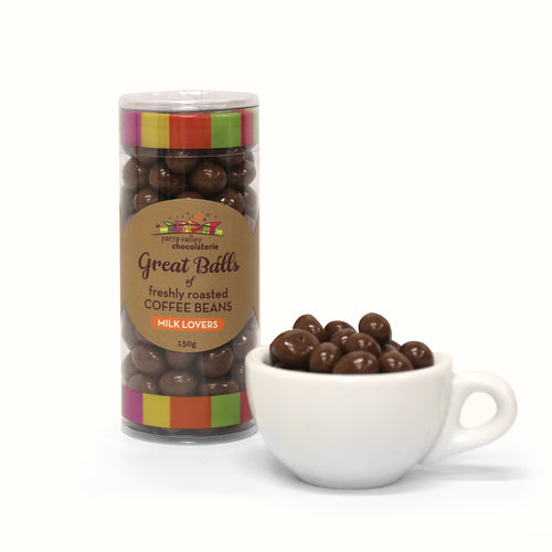 Chocolate Coated Coffee Beans - Milk