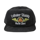 Black Label - Faded Black Corduroy Cap