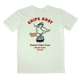 Chips Ahoy White Tee