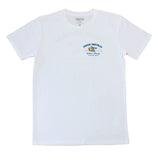 Froth Central White Tee