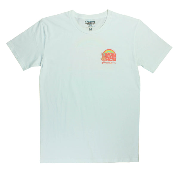 Luau Club White Tee