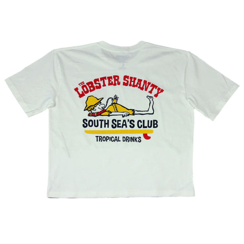 South Sea's Ladies Crop Tee