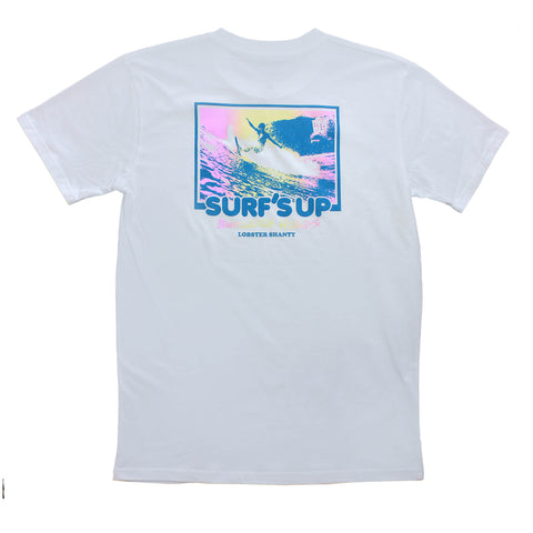 Surfs Up White Tee