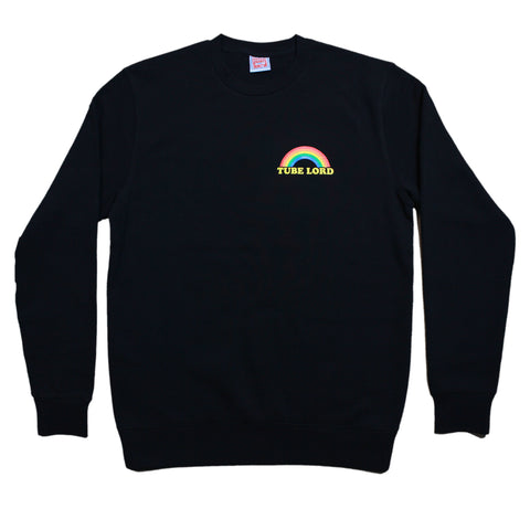Tube Lord - Black Crew Neck Jumper
