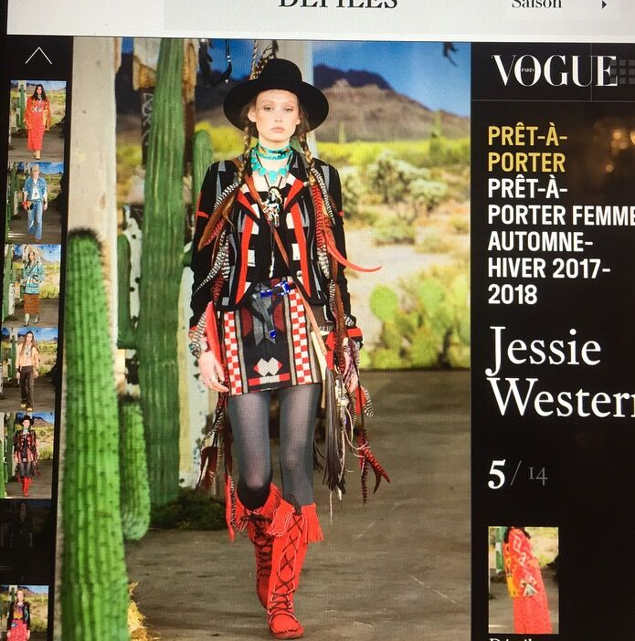 JESSIE WESTERN READY TO WEAR LFW AW17/18