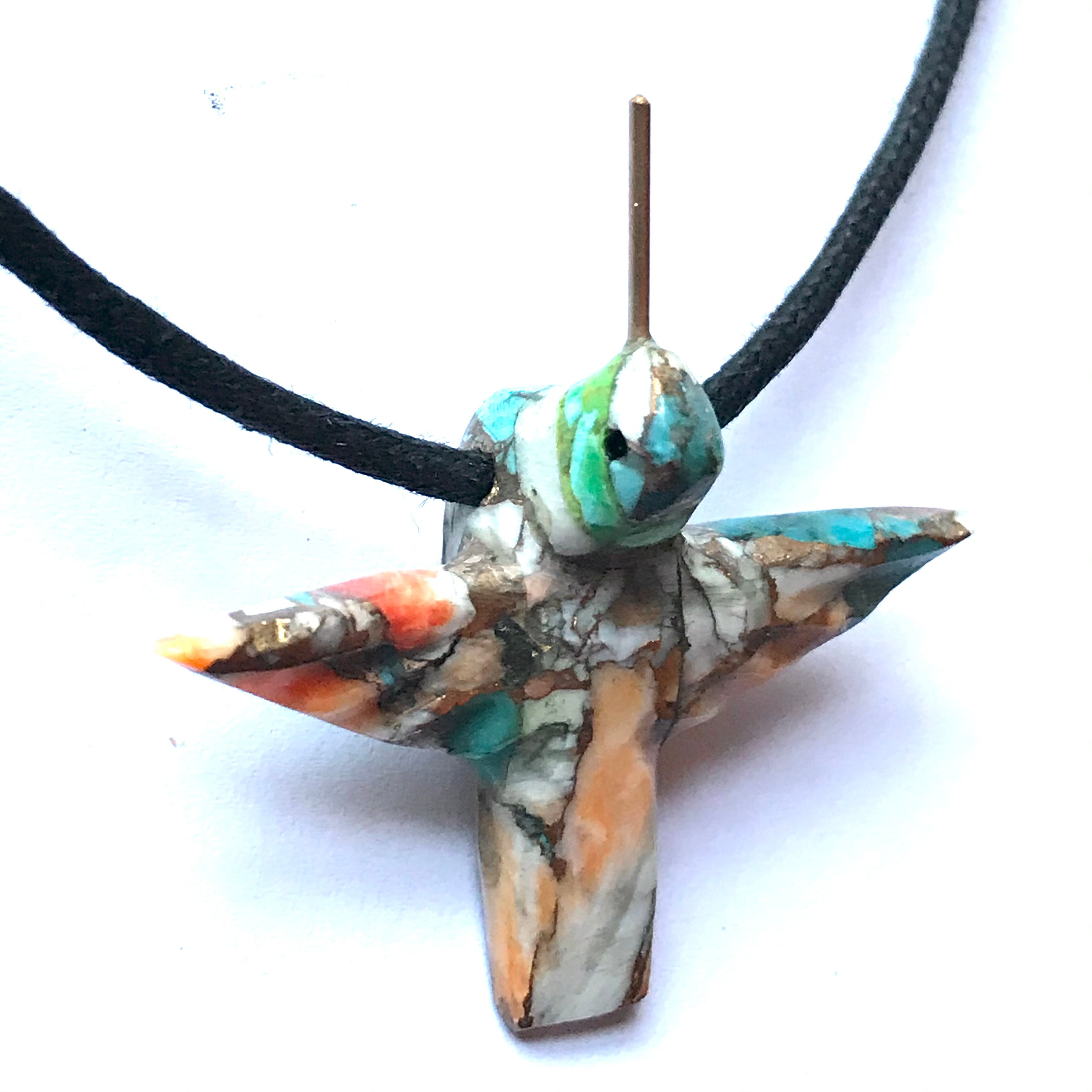 Hummingbird necklace power animal