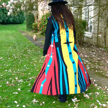 Star chaser coat hand made by Jessie western