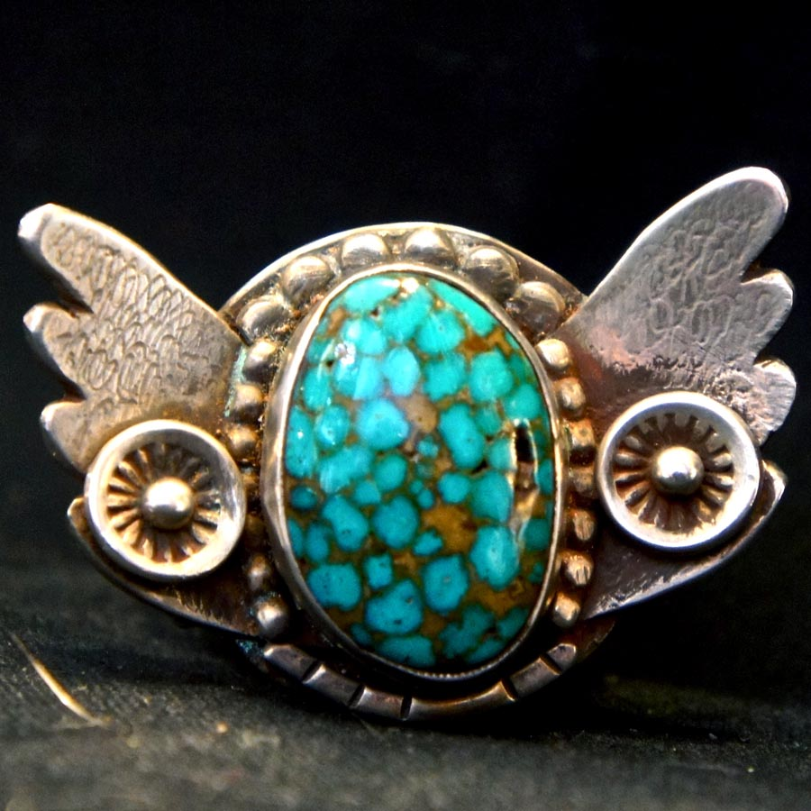 Winged Turquoise Ring