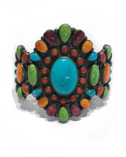 Large Don Lucas Multi-stone Cuff